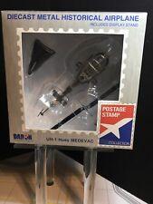 Daron Worldwide Trading Postage Stamp UH-1 Huey MEDEVAC US Army Vehicle 1/87