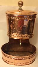 18th C, Antique French Copper Lavabo Wall Hanging Fountain UPC 5060475010060
