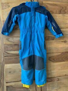 VAUDE Kinder Kids Suricate Overall Schneeanzug Kinder Gr. 104 blau gelbbluesign