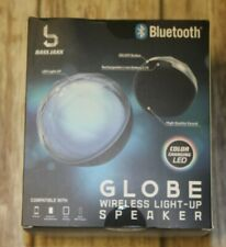 Bass Jaxx Bluetooth Globe Wireless Light-Up Speaker Color Changing LED New