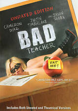 Bad Teacher (DVD, 2011) Unrated and Theatrical Versions