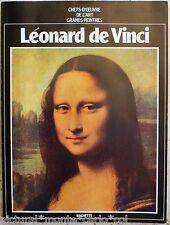 LEONARD*DE*VINCI*HACHETTE*CHEFS*OEUVRE*JOCONDE*CHRIST*MUSEE*ART*VINTAGE*MUSEE*OR