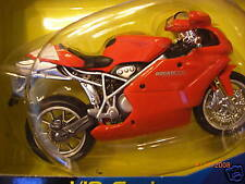 1/18 DUCATI 999 RED SPORT BIKE motorcycle NEW