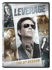 Leverage . The Complete Season Five . 5. Staffel . Timothy Hutton . 4 DVD . NEU