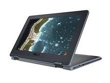 ASUS Chromebook Flip C213NA 11.6 inch (32 GB,Celeron N,1.10 GHz,4 GB) Laptop - Grey - 90NX01C1M00550