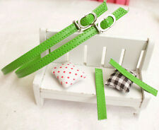 2 Pairs Short PU Shoe Straps Laces Band for Holding Loose High Heels Shoes Decor