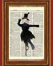 Howl's Moving Castle Dictionary Art Poster Picture Turnip Head Scarecrow Howls