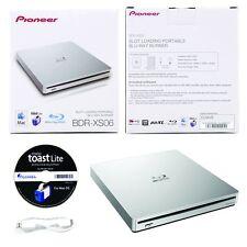 Pioneer BDR-XS06 6X Slim Blu-Ray Portable DVD CD External Burner Drive+Software