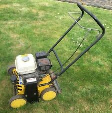 More details for petrol lawn scarifier fitted with honda engine