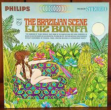 """SEALED latin jazz LP ~ LUIZ BONFA """"Brazilian Scene"""" PHILIPS '65 orig ~ UNPLAYED!"""