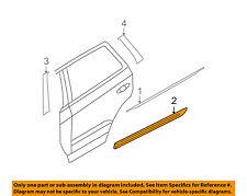 HYUNDAI OEM 07-09 Santa Fe REAR DOOR-Body Side Molding Left 877702B000