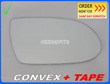 Wing Mirror Glass MERCEDES SLK CLK R171 2004-08 CONVEX + TAPE  Right  #E018