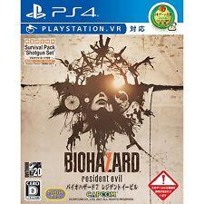 Biohazard 7 Resident Evil VR SONY PS4 PLAYSTATION 4 JAPANESE NEW JAPANZON