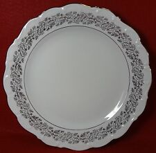 CATHEDRAL Germany china BRIDAL ROSE pattern Dinner Plate - 10-3/8""