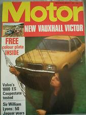 Motor 4/3/72 Volvo 1800ES