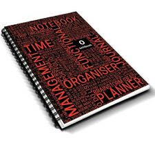 Academic A5 Project Book/ Notebook ONITBOOK for University Student Red 300 Pages