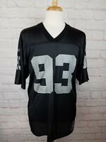 RARE Vintage TRACE ARMSTRONG Los Angeles Raiders VTG Retro Jersey Size Medium