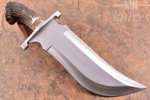 D2 Steel bowie knife