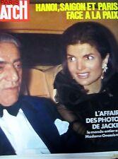 PARIS MATCH N° 1232 de 1972 JACKIE KENNEDY ONASSIS GUERRE VIETNAM SAÏGON PLAYBOY