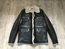 Dsquared Sheepskin Lederjacke Leather Jacket 50 Neu Lammfell
