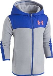 Under Armour Toddler Boys' Cozy Hoody, Steel, 2T