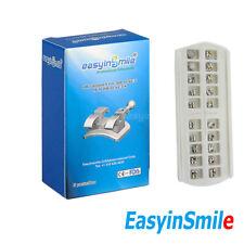 5pks Dental Orthodontic Brackets Roth 022 Hook 345 Mini Metal Braces Easyinsmile