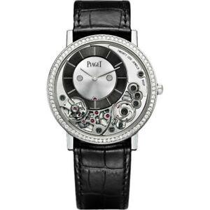 Piaget Altiplano G0A39112 White Gold Diamond Ultra Thin Men's Watch