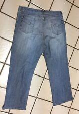 CHICO'S Denim Light Blue 5 pocket Straight Ankle Leg Jeans Sz 3 (16)