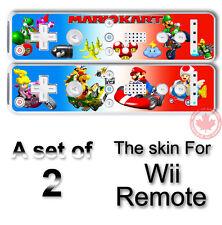 MARIO KART SKIN STICKER COVER for NINTENDO Wii Remote