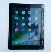 "Apple iPad 4th Gen. (A1458) 16GB - Black (WiFi Only) 9.7"" Cracked Screen QZ050"