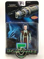 Babylon 5 Earth Alliance Space Station Lennier with Minbari Cruiser New in Box