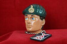 Vintage action Man Vintage Restored Royal Marine green beret large badge