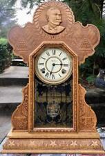 Ingraham Adm. Dewey Clock, Runs Well Vg.Condition