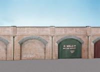 Wills SS52 Brick Retaining Arches (Pk4) Plastic Kit OO Gauge