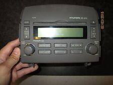 06 07 08 HYUNDAI SONATA RADIO STEREO MP3 CD DISC PLAYER #VP5HBF-18C869-BG XX-309