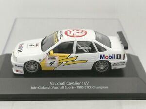 Vauxhall Cavalier 16V BTCC Champion John Cleland 1995 1:43 Scale Atlas model