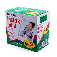 Fujifilm Fuji Instax Mini 50 sheets Film for 7s 8 25 50s 70 90 Camera SP-1 SP-2