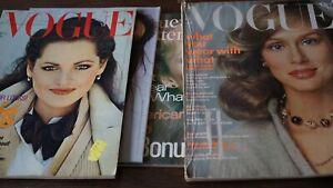Vogue Konvolut 1973,77,78  Zeitschrift Magazin Konvolut  Hefte