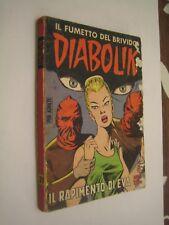 DIABOLIK ORIGINALE PRIMA SERIE N. 21 - DIFF. SODIP  10-9-1964
