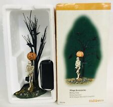 New ListingDepartment 56 Village Accessories Killing Time 55026 Halloween Original Box Euc