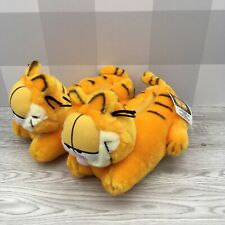 Triple T Garfield the Cat Plush Home Slippers Ladies Small (S) 5-6