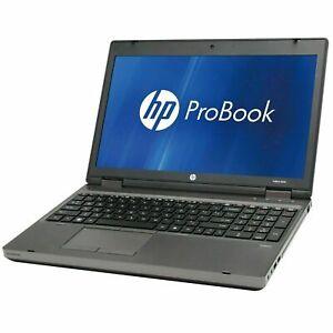 """HP ProBook 6560b 15.6"""" Laptop i3-2350M 8GB RAM 500GB SSHD Win 10 NEW KBD+BATTERY"""