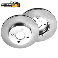 For Chevrolet Chevy Cobalt Saturn Ion Pontiac G5 Front 256 mm Brake Rotors (Fits: Saturn Ion)