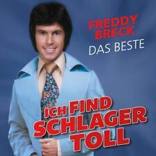 FREDDY BRECK - ICH FIND SCHLAGER TOLL-DAS BESTE   CD NEUF