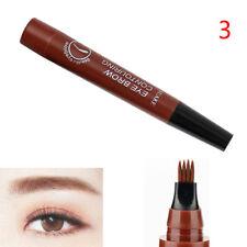 4 head fork tip eyebrow tattoo pen liquid brow enhancer dye tint pencil charm LD