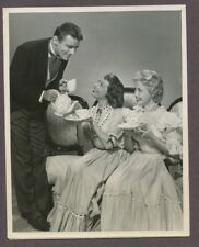 IMOGENE COCA, Jane Powell, Peter Lawford 1956 Ruggles Of Red Gap NBC Photo J4647