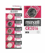 50X CR2016 Branded Hitachi MAXELL 3V LITHIUM Coin Cell Button Batteries Trusted