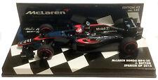 Minichamps McLaren Honda MP4-30 #22 Spanish GP 2015 - Jenson Button 1/43 Scale