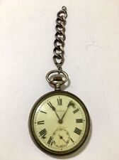 Vintage Cortebert Pocket Watch w/Short Chain
