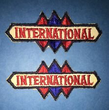 2 Lot Vintage 1950's International Harvester Truck Hipster Jacket Patches 744R
